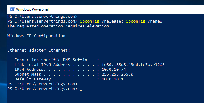 How-to: Run multiple commands in one line in Powershell
